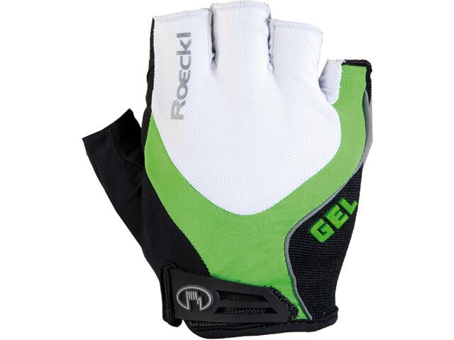 Roeckl Imuro Gants, white/green